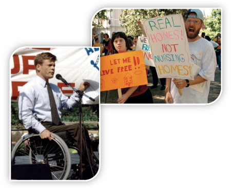We work to protect and advance the civil rights of persons with disabilities.